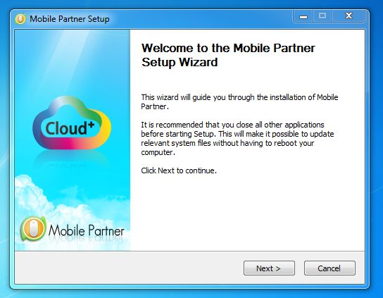 Mobile Partner Dashboard for Huawei